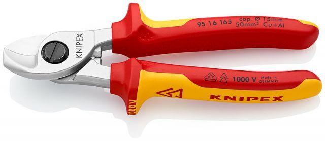ALICATE 1000V 165mm CORTA CABLES CU-AL 15-50mm