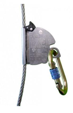 ANTICAIDAS P/CABLE 8mm ACERO SKR2 C/MOSQ.